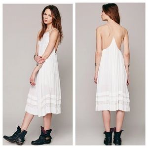 Free People Diamonds in the Sky embroidered dress